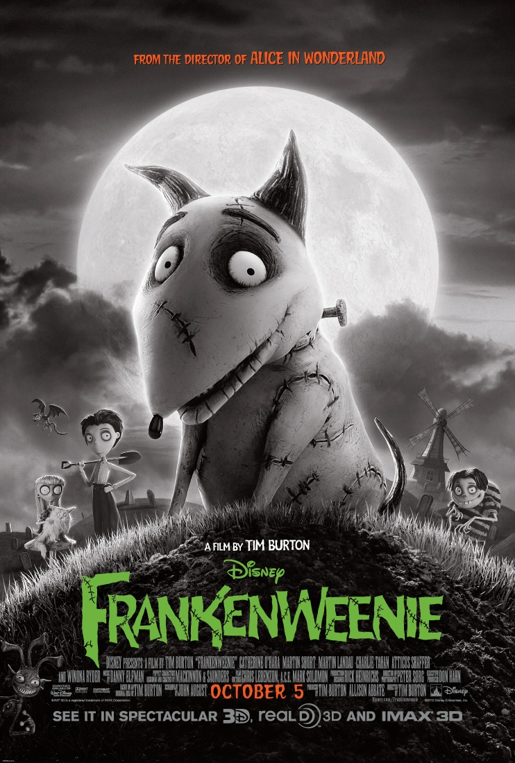 "#GIVEAWAY: ENTER TO WIN PASSES TO SEE ""FRANKENWEENIE"" IN TORONTO, VAUGHAN & MISSISSAUGA"