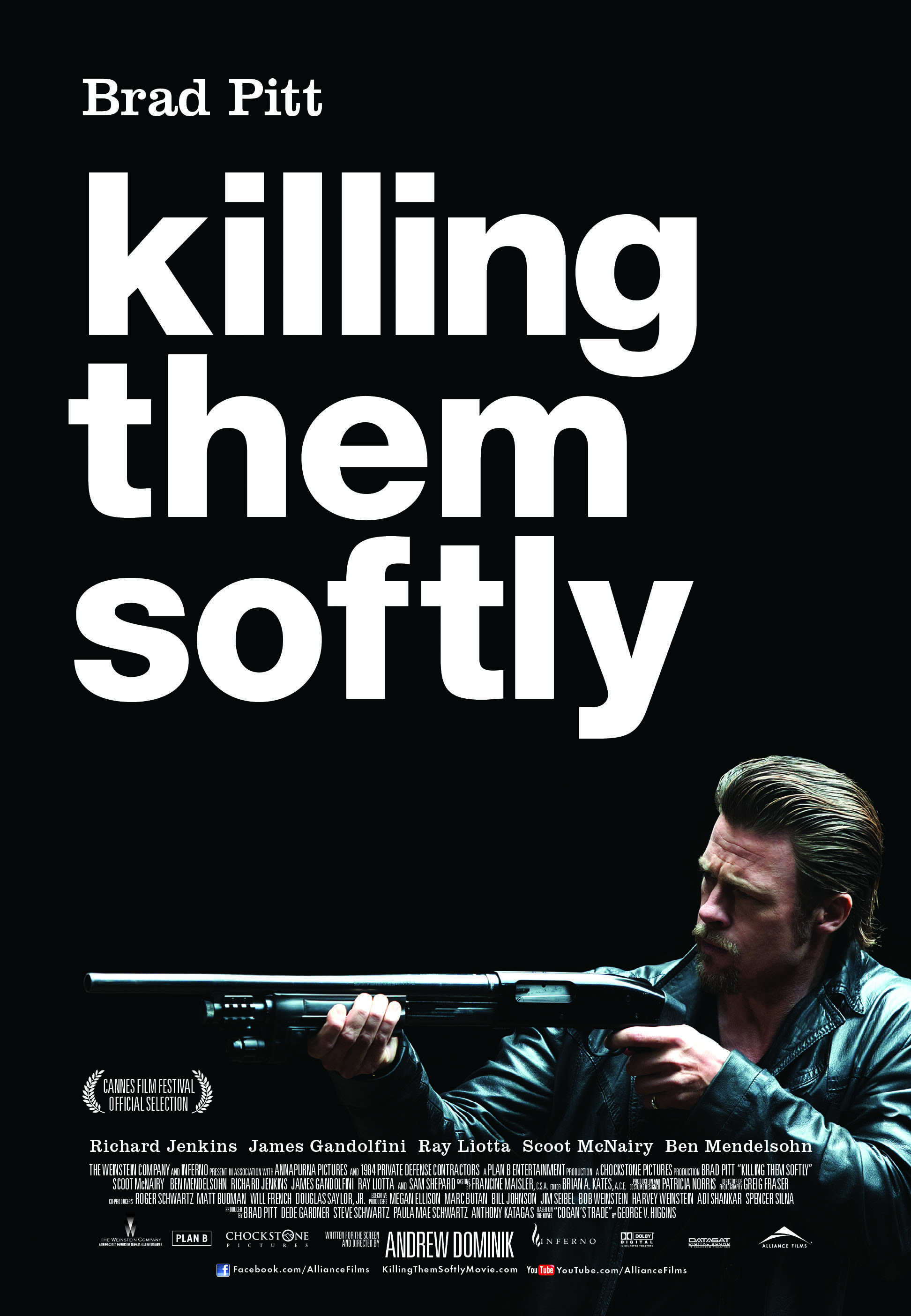 "#GIVEAWAY: ENTER TO WIN A DOUBLE PASS TO SEE ""KILLING THEM SOFTLY"" STARRING BRAD PITT"