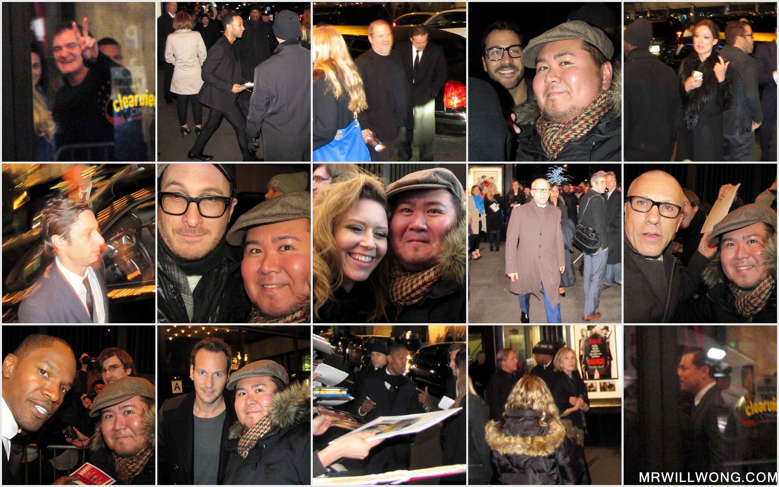 """#SPOTTED: THE """"DJANGO UNCHAINED"""" NEW YORK CITY PREMIERE 