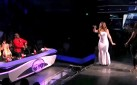 "MARIAH CAREY THROWS GLITTERBOMB AT ""AMERICAN IDOL"" CONTESTANT CANDICE GLOVER"