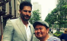 #SPOTTED: JOE MANGANIELLO IN TORONTO FOR MAGNUM ICE CREAM