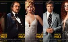 "#FIRSTLOOK: NEW CHARACTER POSTERS FOR ""AMERICAN HUSTLE"""