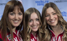 #SPOTTED: OLYMPIANS CHLOE, JUSTINE & MAXIME DUFOUR-LAPOINTE IN TORONTO