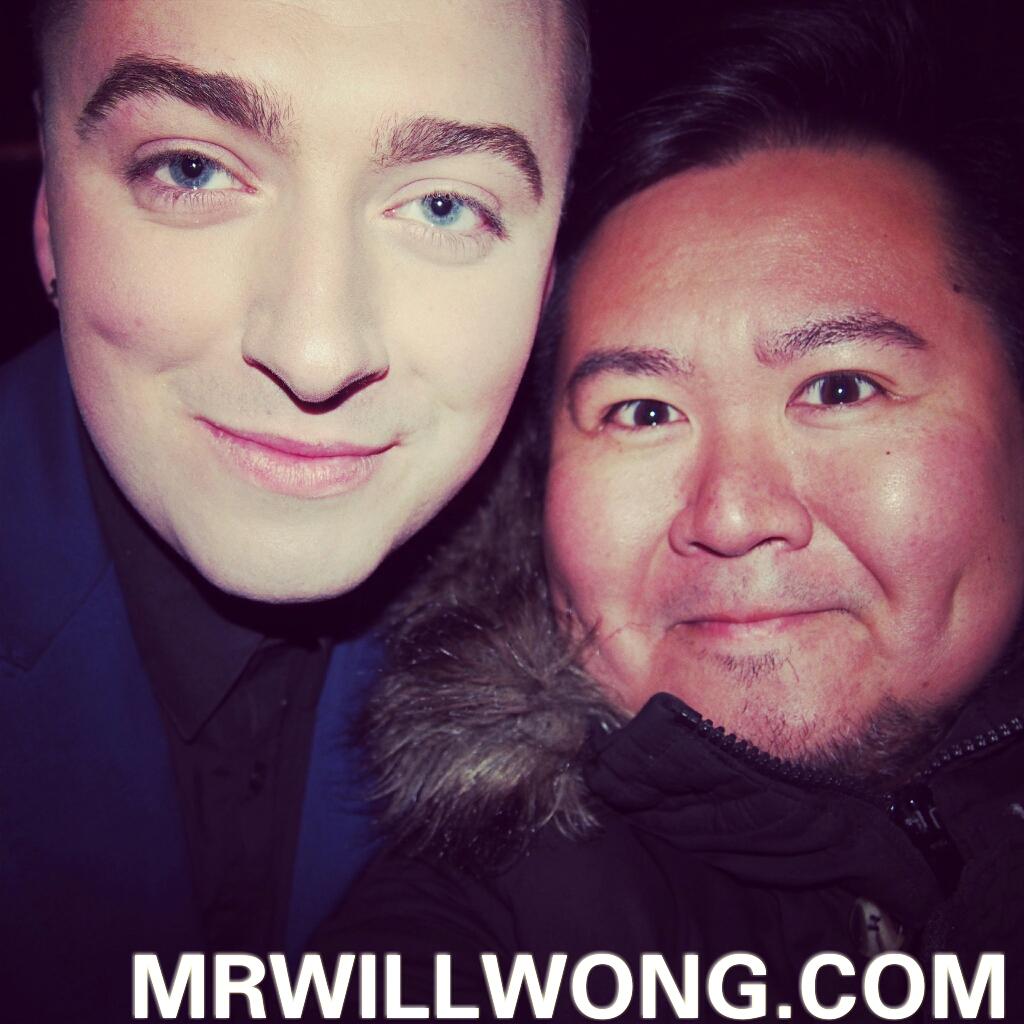 Mr. Will Wong, Toronto Entertainment Blogger | sam smith