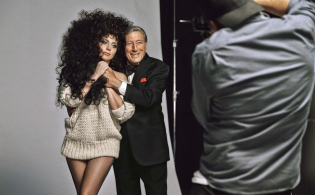 #FASHION: LADY GAGA + TONY BENNETT STAR IN H&M'S 2014 HOLIDAY COLLECTION