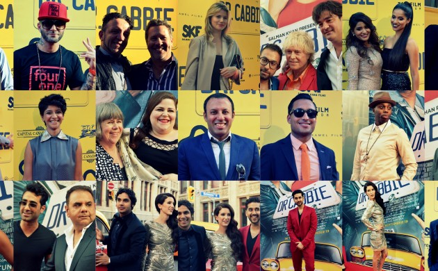 """#SPOTTED: STARS AT THE WORLD PREMIERE OF """"DR. CABBIE"""""""