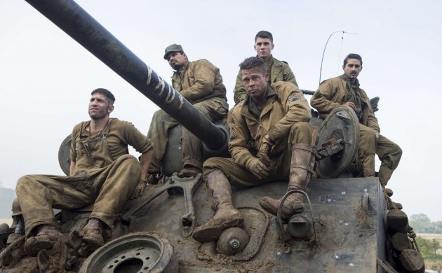 "#BOXOFFICE: ""FURY"" LIVES UP TO ITS NAME ATOP THE BOX OFFICE"