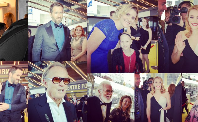 #SPOTTED: RYAN REYNOLDS, RACHEL MCADAMS, PETER FONDA, THE WEEKND + MORE AT THE 2014 CANADA'S WALK OF FAME TRIBUTE SHOW