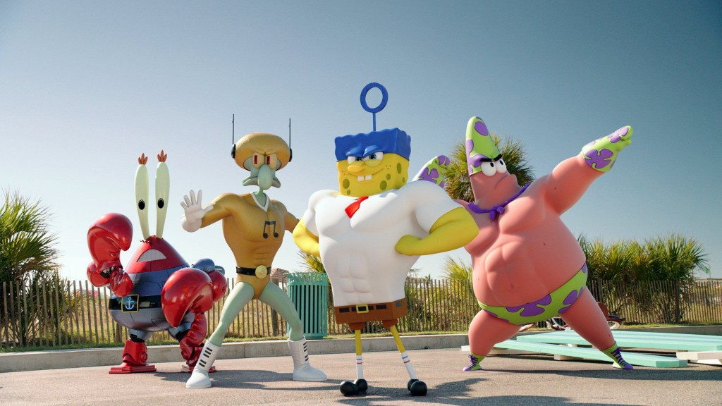 After Making Us Fall In Love With Happy From Despicable Me 2 Last Year Pharrell Is Back SQUEEZE ME Upcoming The SpongeBob Movie Sponge Out Of