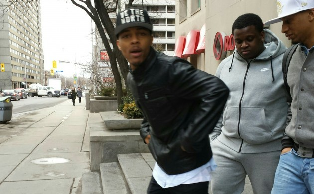 """#SPOTTED: SHAD MOSS (BOW WOW) IN TORONTO FOR """"CSI: CYBER"""""""