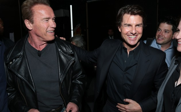 #FIRSTLOOK: ARNOLD SCHWARZENEGGER + TOM CRUISE AMONG STARS AT CINEMACON 2015