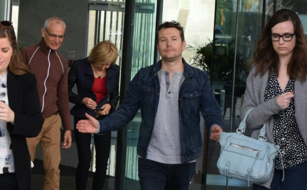 """#SPOTTED: LEIGH WHANNELL + LIN SHAYE IN TORONTO FOR """"INSIDIOUS 3″"""