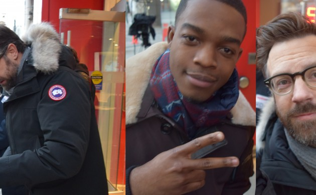 """#SPOTTED: JASON SUDEIKIS + STEPHAN JAMES IN TORONTO FOR """"RACE"""""""
