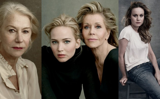 #FIRSTLOOK: 2016 VANITY FAIR HOLLYWOOD ISSUE PORTRAITS BY ANNIE LEIBOVITZ