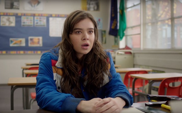 "#FIRSTLOOK: TRAILER FOR ""THE EDGE OF SEVENTEEN"" STARRING HAILEE STEINFIELD"