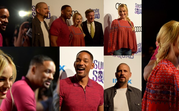"""#SPOTTED: DAVID AYER, MARGOT ROBBIE + WILL SMITH IN TORONTO FOR THE """"SUICIDE SQUAD"""" BELLE REVE PENITENTIARY FAN EXPERIENCE"""