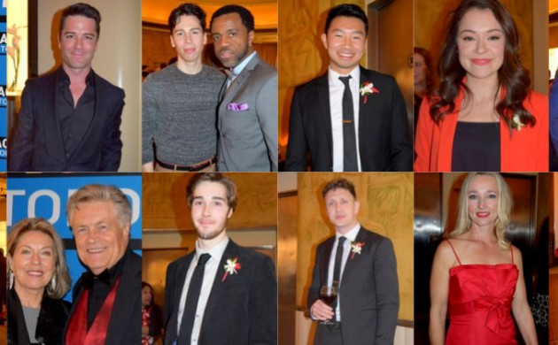 """#SPOTTED: CASTS OF """"ORPHAN BLACK"""", """"KIM'S CONVENIENCE"""", YANNICK BISSON AND MORE AT THE 2017 ACTRA AWARDS IN TORONTO"""