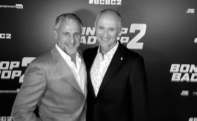 """#SPOTTED: COLM FEORE + PATRICK HUARD AND MORE AT THE TORONTO PREMIERE OF """"BON COP BAD COP 2"""""""