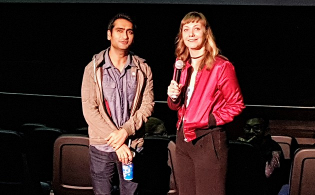 "#SPOTTED: KUMAIL NANJIANI + EMILY V. GORDON IN TORONTO FOR ""THE BIG SICK"""