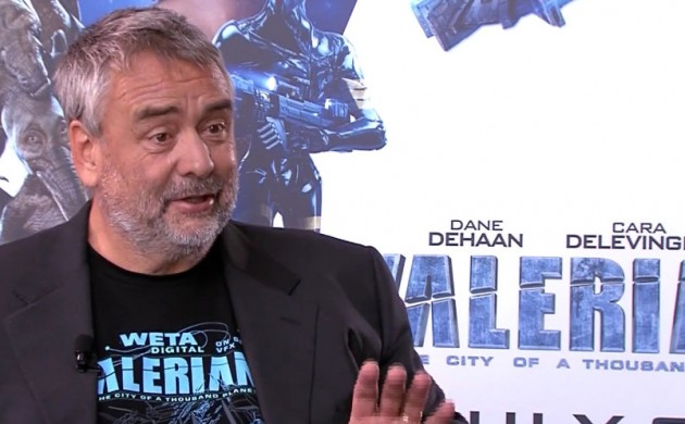 "#INTERVIEW: LUC BESSON ON ""VALERIAN AND THE CITY OF A THOUSAND PLANETS"""