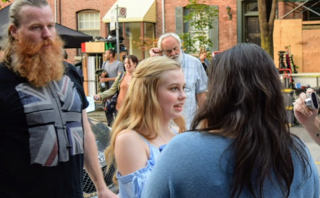 """#SPOTTED: ANGOURIE RICE IN TORONTO FILMING """"EVERY DAY"""""""