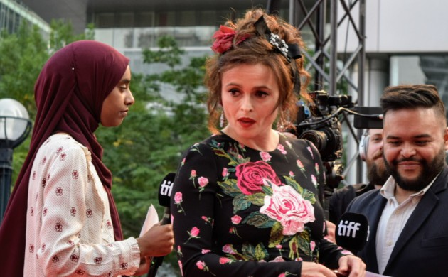 #TIFF17: DAY 9 SIGHTINGS – HELENA BONHAM CARTER, LOUIS GARREL + MICHAEL HAZANAVICIUS