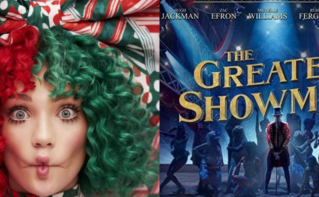 """#GIVEAWAY: ENTER TO WIN COPIES OF """"THE GREATEST SHOWMAN ORIGINAL MOTION PICTURE SOUNDTRACK"""" + SIA'S """"EVERYDAY IS CHRISTMAS"""""""