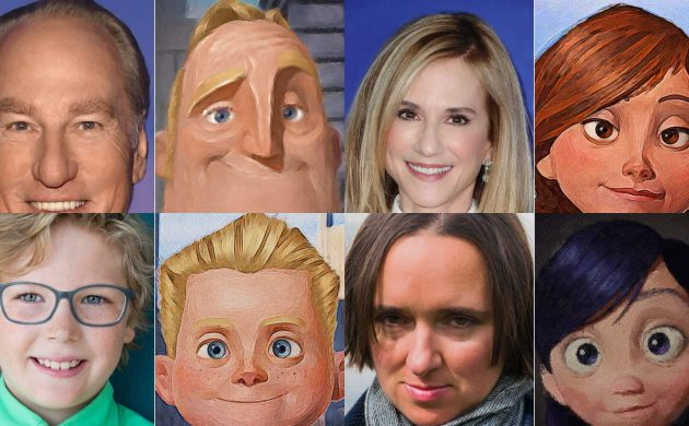 """#FIRSTLOOK: THE CAST OF """"INCREDIBLES 2"""" SIDE-BY-SIDE COMPARISONS"""