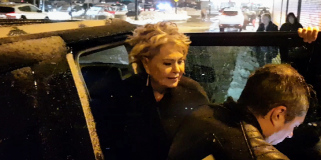 #SPOTTED: ROSEANNE BARR IN TORONTO AT RICHMOND HILL CENTRE FOR THE PERFORMING ARTS