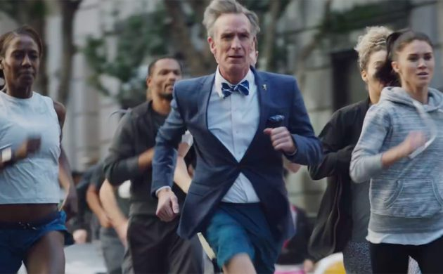 #SPOTTED: BILL NYE THE SCIENCE GUY IN TORONTO FOR NIKE