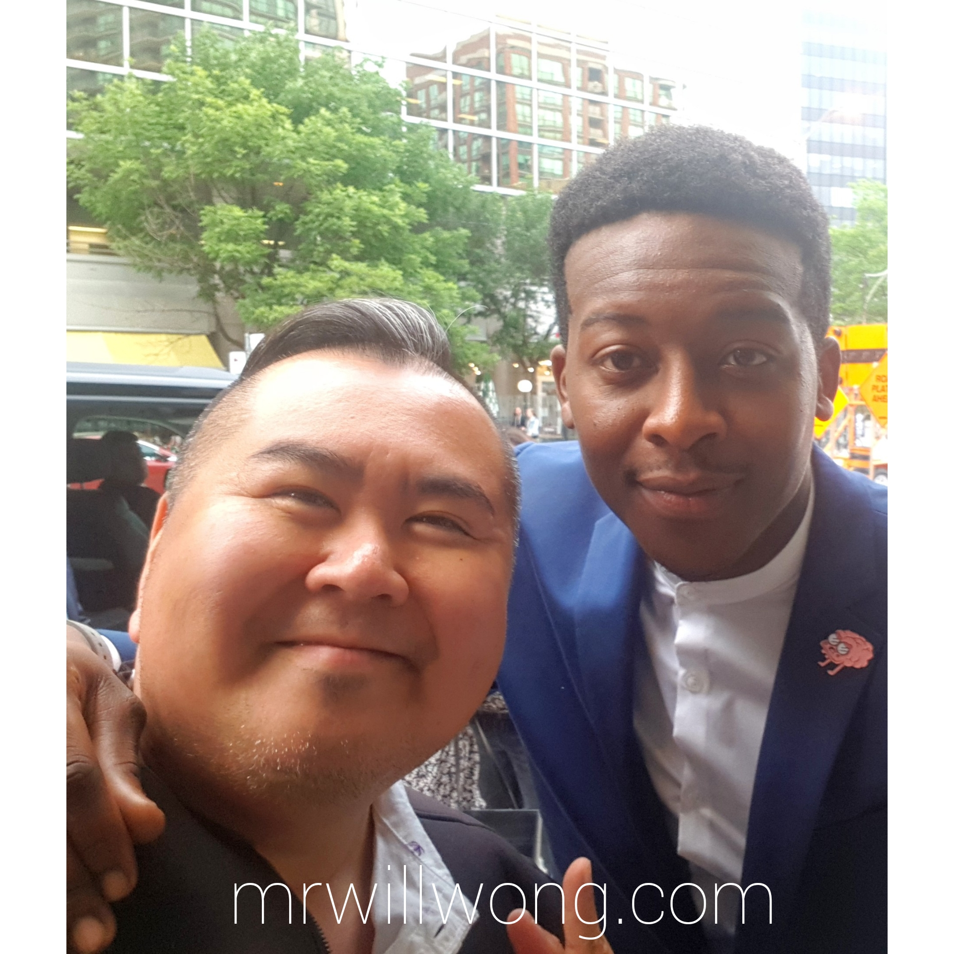 Mr Will Wong Toronto Entertainment Blogger Upfronts