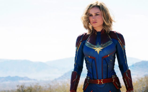 """#FIRSTLOOK: NEW LOOK AT """"CAPTAIN MARVEL"""" 