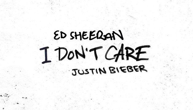 "#NEWMUSIC: ED SHEERAN FT. JUSTIN BIEBER – ""I DON'T CARE"""