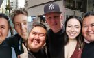 "#SPOTTED: MICHAEL RAPAPORT, DEAN COLLINS + ESTHER POVITSKY  IN TORONTO FOR ""JUST FOR LAUGHS"""