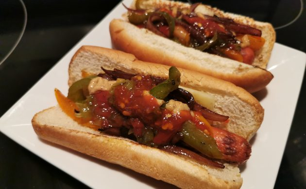 #COOKING: AT-HOME HOT DOGS RECIPE