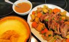 #COOKING: POT ROAST WITH GIANT YORKSHIRE PUDDING RECIPE