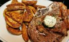 #COOKING: STEAK WITH GARLIC BUTTER & TATERS RECIPE