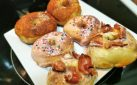 #COOKING: AIR FRYER DOUGHNUTS (MAPLE-BACON, VANILLA SPRINKLE & CINNAMON-SUGAR) RECIPE