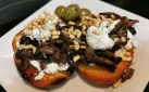#COOKING: PORTOBELLO MUSHROOM CROSTINI RECIPE