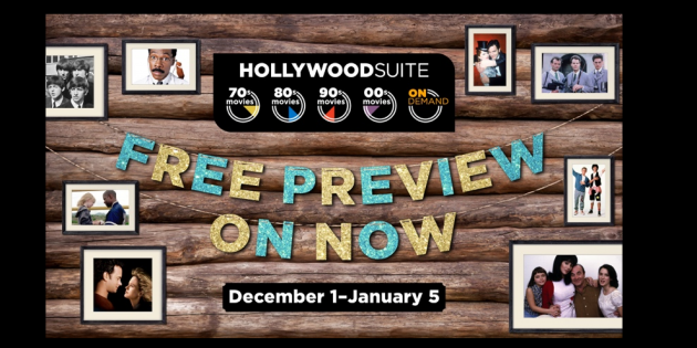 #FIRSTLOOK: HOLLYWOOD SUITE FREE PREVIEW AVAILABLE STARTING DECEMBER 1, 2020!