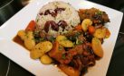 #COOKING: OXTAIL WITH RICE & PEAS RECIPE